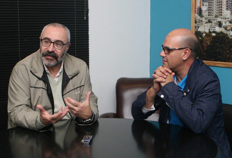 Horacio Zarlenga y Germán Poiman